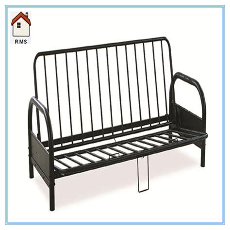 metal frame sectional sofa futon sofa bed metal frame