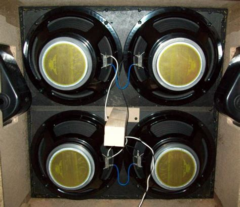 4x12 cabinet wiring how to properly wire a 4x12 speaker cabinet warehouse