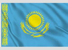 Kazakhstan flag sticker, to buy flag sticker