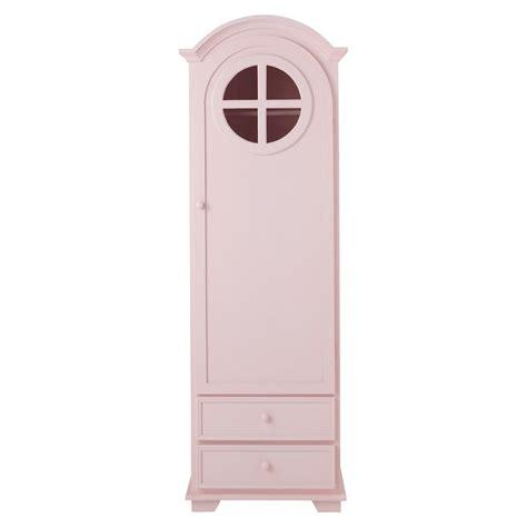 armoire bonneti 232 re en bois rose l 62 cm pastel maisons