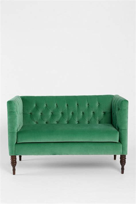 Settees For Small Spaces by Plum Bow Tufted Settee Furniture Design Sofas For