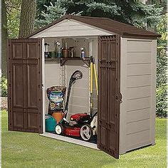 Lawn Mower Storage Shed by 1000 Images About Outdoor Lawn Mower Storage Stashes On
