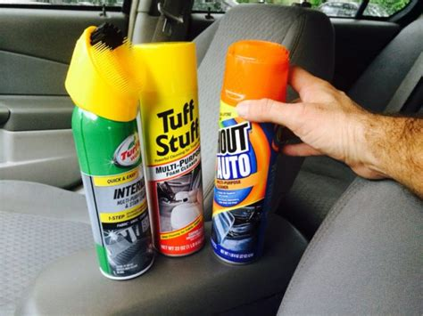 Best Upholstery Cleaner For Cars by My Review Of Car Upholstery Cleaners See Which Fabric