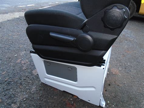 Scopema swivel seat bases are priced & sold individually. Mercedes Benz Sprinter Single Passenger Seat *with Base* and Headrest