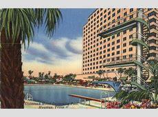 Shamrock Hotel Swimming Pool Houston, TX