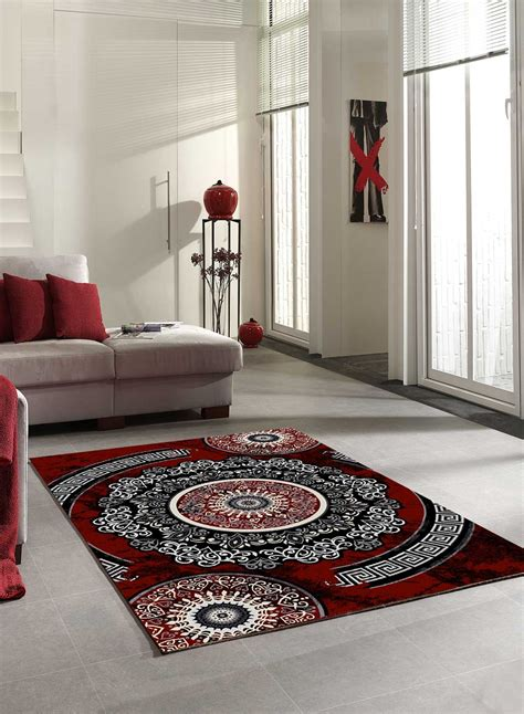tapis salon tapis salon new florida 4 gris et