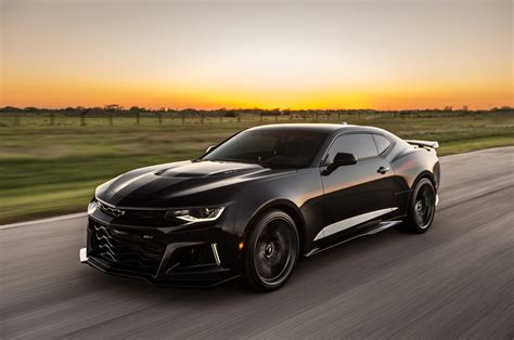 hennessey exorcist camaro zl   hp   wheels
