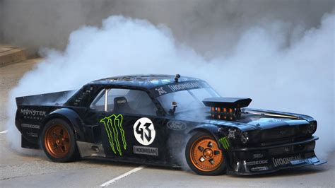 hoonigan mustang twin turbo hoonigan ken block 39 s gymkhana seven wild in the streets