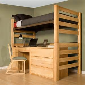 Xl Twin Bunk Beds by University Loft Graduate Series Twin Xl Open Loft Bed