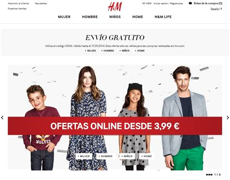 H&m Home Decor Online : H&m Opens Online Store In Spain