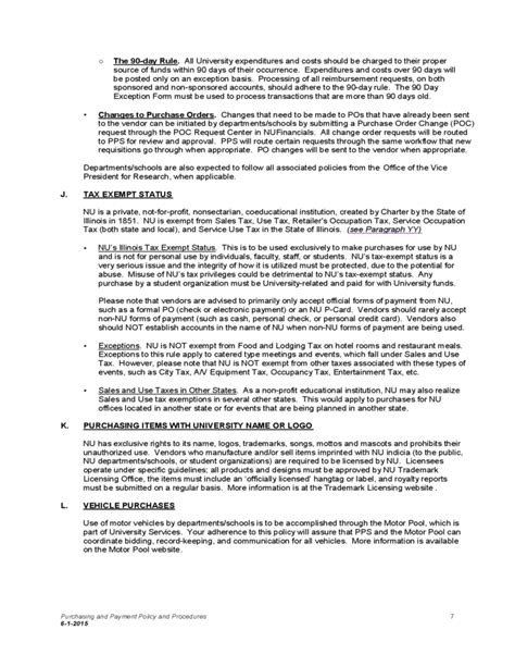 Purchasing Policies And Procedures Template by Purchasing And Payment Policy And Procedures Free