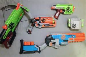 Nerf Zombie Strike Guns