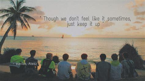 ateez kpop background desktop laptop wallpaper quotes