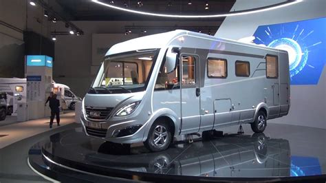 A Brand New Hymer For 2018! B708sl Motorhome Review
