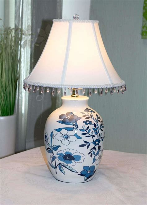 Bedroom Deluxe Ceramic Table Lamps For Bedroom Getting