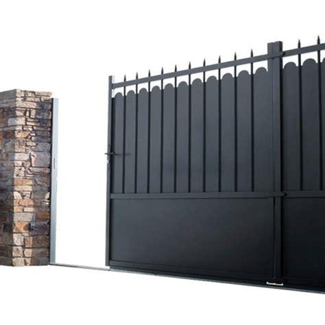portail coulissant lapeyre portail coulissant aluminium adaggio lapeyre jardin