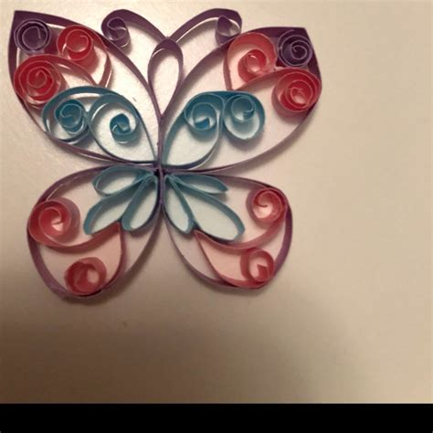 quilling butterfly patterns pdf tutorial etsy quilling