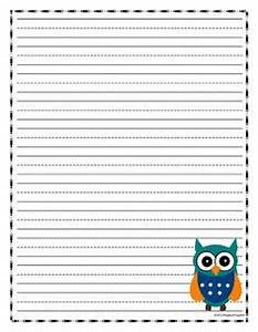 Owl Writing Paper Template Essay On Your Mother
