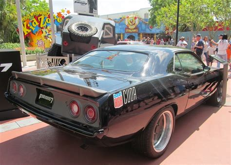 Fast Seven Cars by 3 Cars From Furious 7 On Display At Universal Studios