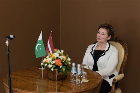 D. Beitnere-Le Galla Pakistānas vēstniekam: ir daudz ...