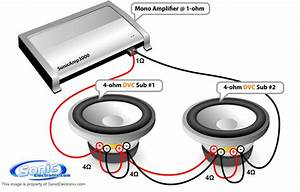2 Ohm Dvc Subwoofer Wiring Diagram For
