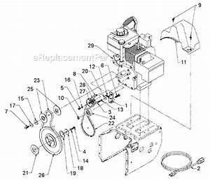 33 Yard Machine Snowblower Parts Diagram