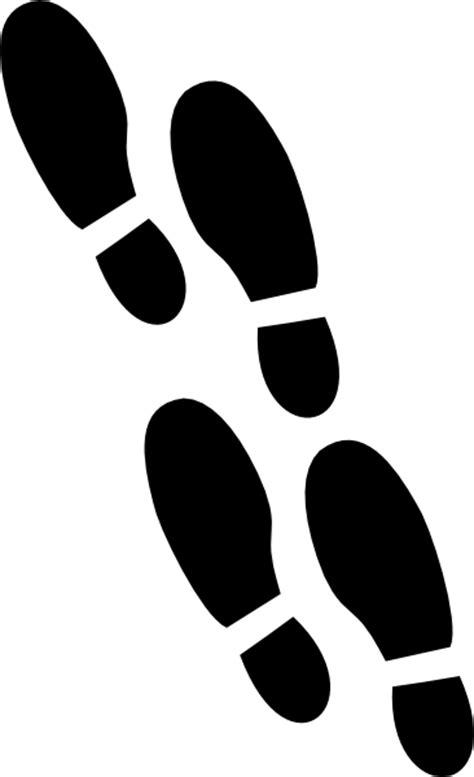 shoe print clip art  clkercom vector clip art