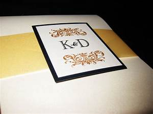 mrs champagnes diy invite bellyband weddingbee photo With diy belly band for wedding invitations
