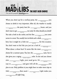 Best Mad Libs - ideas and images on Bing | Find what you'll love