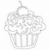 Cupcake Coloring Cupcakes Pages Cute Adult Printable Birthday Cat Colouring Cake Adults Wonderful Shopkin Ice Cream Designs Cartoon Comments Getcoloringpages sketch template
