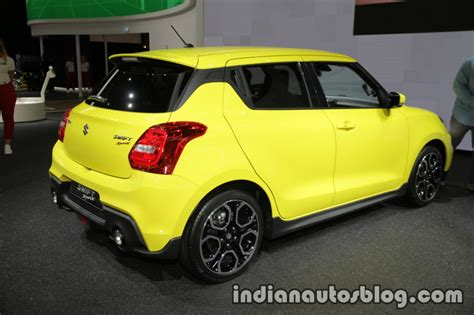 2018 Suzuki Swift Sport At Iaa 2017 Indian Autos Blog