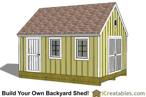 Plans For Backyard Sheds by Shed Plans How To Build A Shed Icreatables