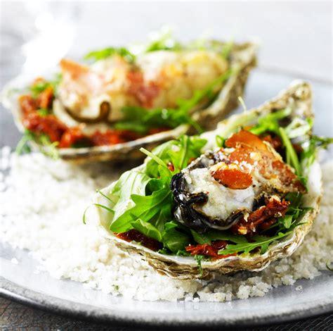cuisiner des huitres cuisiner les huîtres huîtres gratinées au parmesan