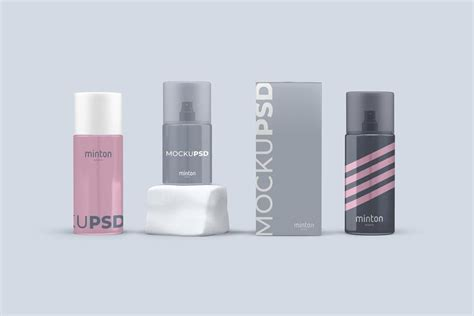 spray cosmetics  mockups  images cosmetics
