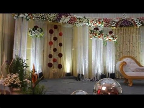 Luxury Wedding Stage Decoration YouTube