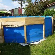 terrasse en cumaru avec marches pour piscine hors sol With jardin paysager avec piscine 0 piscines hors sol les differents types pratique fr