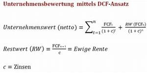 Unternehmensbewertung Berechnen : discounted cash flow controlling wiki ~ Themetempest.com Abrechnung