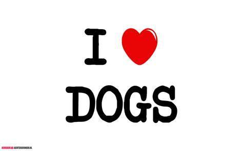 i dogs ik hou honden bureaublad achtergronden