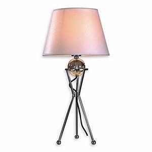 Lampe Mit Stoffschirm : nachttischlampen und andere lampen von lampenlux online kaufen bei m bel garten ~ Indierocktalk.com Haus und Dekorationen