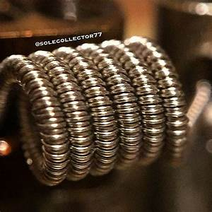Clapton Coil Berechnen : triple clapton 26g nichrome wrapped with 34g 36g and 38g nichrome dual coil vaping ~ Themetempest.com Abrechnung