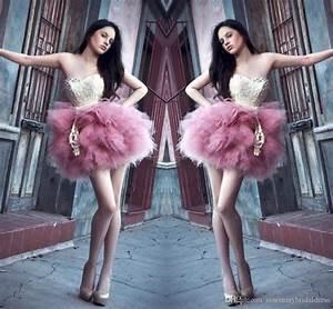 Pink Tutu Skirts Short Mini Women Tutus Dresses Party