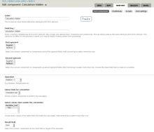 Webform Calculation Components Drupal