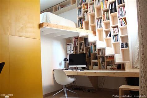 meuble bureau toulouse création d 39 un meuble bureau bibliothèque escalier veran