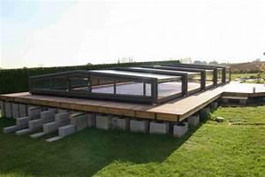 Infos sur : piscine semi enterree avec abri Arts et Voyages