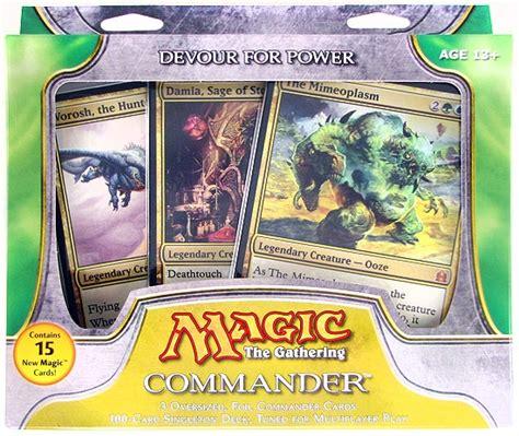 mtg commander decks 2011 magic the gathering commander deck 2011 devour for