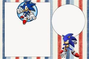 Simple Birthday Invitation Templates Free Printable Sonic The Hedgehog Baby Shower Invitation