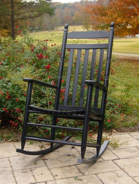 country style slat back 3 rocking chair set the