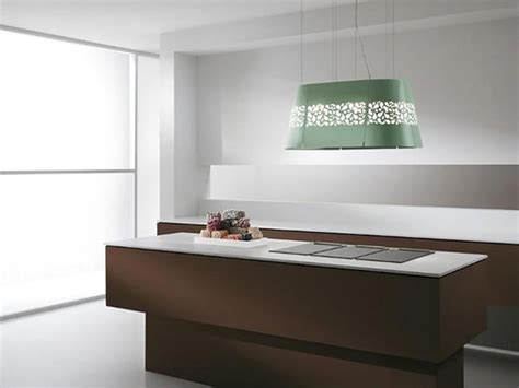 hotte moderne cuisine etonnante hotte de cuisine au design unique signé elica