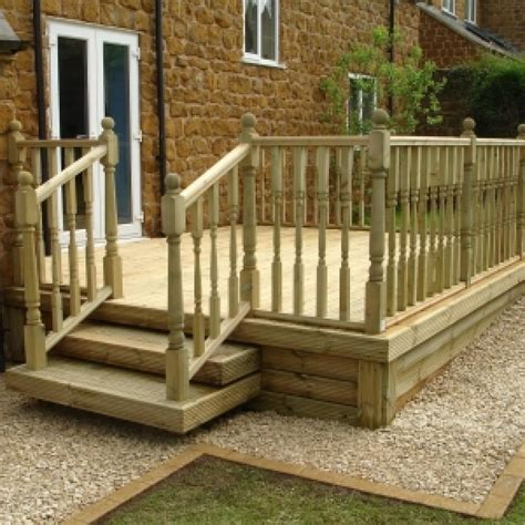 High Quality Decking wooden garden decking from lowton landscpes