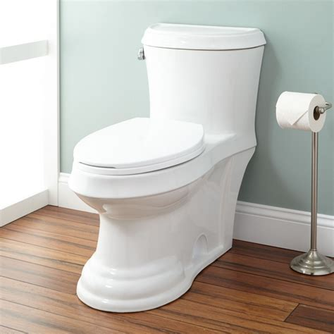 Brookfield Siphonic Elongated One Piece Toilet   Bathroom